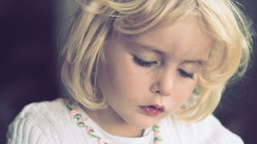 Gorgeous little girl Royalty Free Stock Photos