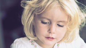 Gorgeous little girl Royalty Free Stock Photography