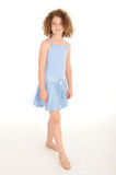Gorgeous little girl in the studio Stock Images