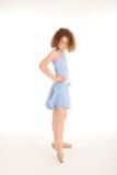 Gorgeous little girl in the studio Stock Photos