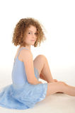 Gorgeous little girl in the studio Royalty Free Stock Photo