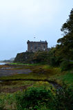 Gorgeous Look at Dunvegan Castle in Scotland Royalty Free Stock Photo