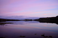 Gorgeous Look at Loch Dunvegan on the Isle of Skye Stock Image