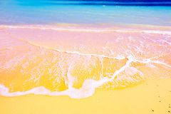 Gorgeous mediterranean beach. In summertime Stock Photo