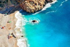 Gorgeous mediterranean beach Royalty Free Stock Photography