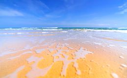 Gorgeous mediterranean beach Stock Photo