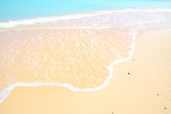 Gorgeous mediterranean beach in summertime Stock Photography