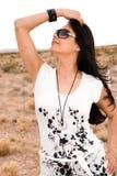Gorgeous Mexican woman. Royalty Free Stock Photo