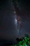 Gorgeous Milky Way from the remote Togian Islands, Indonesia Stock Photography