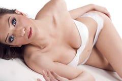 Gorgeous model in bikini Royalty Free Stock Photography