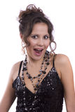 Gorgeous model looking surprised Royalty Free Stock Photography