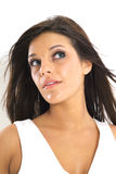 Gorgeous model looking up Royalty Free Stock Photo
