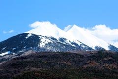 La Sal mountain range in moab utah stock photos