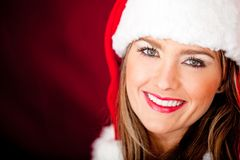 Gorgeous Mrs Claus Royalty Free Stock Photo