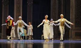 Gorgeous nobles dress-The Ballet  Nutcracker Stock Photography
