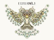 Gorgeous owl Stock Photos