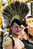 Gorgeous participants of Christopher Street Day Royalty Free Stock Photography