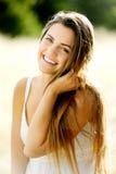 Gorgeous portrait woman Stock Images