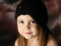 Gorgeous preschool girl Royalty Free Stock Photos