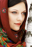 Gorgeous russian woman Royalty Free Stock Photos