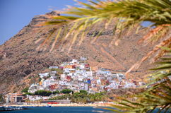 Gorgeous San Andres village and Teresitas beach on Tenerife Royalty Free Stock Photos