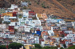 Gorgeous San Andres village on Teresitas beach on Tenerife Royalty Free Stock Photo