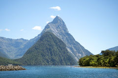 Gorgeous scenery of New Zealand Royalty Free Stock Images