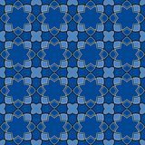 Gorgeous Seamless Arabic Tile Pattern Design. Islamic Wallpaper or Background Stock Photography