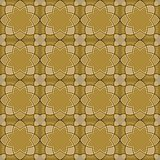 Gorgeous Seamless Arabic Tile Pattern Design. Islamic Wallpaper or Background Stock Image