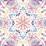 Gorgeous seamless patchwork pattern Stock Image
