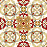 Gorgeous seamless patchwork pattern from colorful Moroccan tiles, ornaments. Can be used for wallpaper, pattern fills. Web page background,surface textures Royalty Free Stock Image