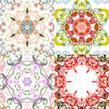Gorgeous seamless patchwork patterns. Stock Photos