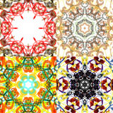 Gorgeous seamless patchwork patterns. Royalty Free Stock Images