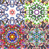 Gorgeous seamless patchwork patterns. Stock Photography