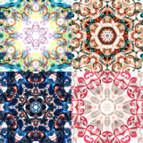 Gorgeous seamless patchwork patterns. Stock Photo