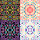 Gorgeous seamless patchwork patterns Royalty Free Stock Image