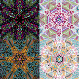 Gorgeous seamless patchwork patterns Royalty Free Stock Photo