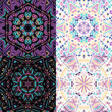 Gorgeous seamless patchwork patterns Royalty Free Stock Photos