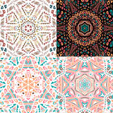 Gorgeous seamless patchwork patterns Stock Images