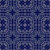 Gorgeous seamless pattern Azulejo stock illustration