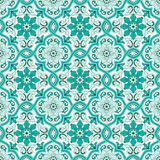 Gorgeous seamless pattern Moroccan, Portuguese tiles, Azulejo, ornaments. Can be used for wallpaper, pattern fills, web. Page background,surface textures Royalty Free Stock Photos