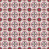Gorgeous seamless pattern Moroccan, Portuguese tiles, Azulejo, ornaments. Can be used for wallpaper, pattern fills, web. Page background,surface textures Stock Images