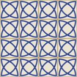 Gorgeous seamless  pattern . Moroccan, Portuguese  tiles, Azulejo, ornaments. Stock Images
