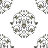 Gorgeous seamless pattern from  Moroccan tiles, ornaments. Stock Image