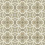 Gorgeous seamless pattern white sepia Moroccan, Portuguese tiles, Azulejo, ornaments. Can be used for wallpaper, pattern. Fills, web page background,surface Royalty Free Stock Photos