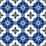 Gorgeous seamless  pattern  white Turkish, Moroccan, Portuguese  tiles, Azulejo, ornament. Gorgeous seamless  pattern  white Turkish, Moroccan, Portuguese Royalty Free Stock Photos