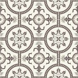 Gorgeous seamless  pattern  white Turkish, Moroccan, Portuguese  tiles, Azulejo, ornament. Royalty Free Stock Photos