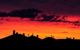 Gorgeous sky Stock Photography