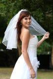 Gorgeous Smiling Bride Royalty Free Stock Photos