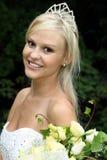 Gorgeous Smiling Bride Stock Photo